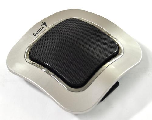 genius parlante portatil recargable rs, sp-i400 , plata