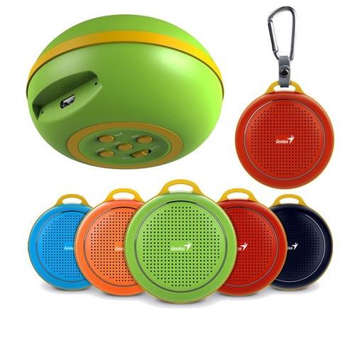 genius parlantes wireless w/bluetooth mic 3w (sp-906bt)