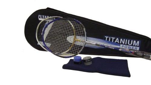 genji sports paquete titanium racket set