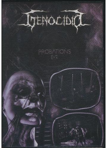 genocídio - probations live *dvd + cd*