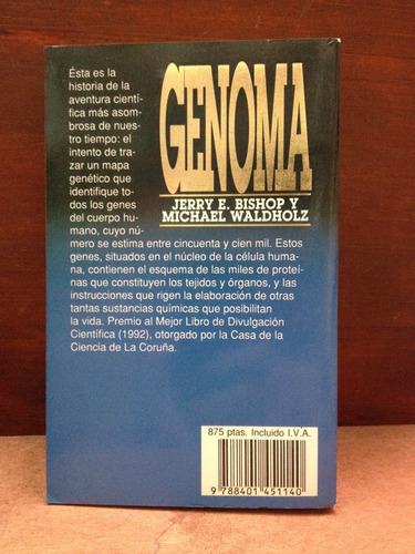 genoma - jerry bishop - michael waldholz - plaza & janes