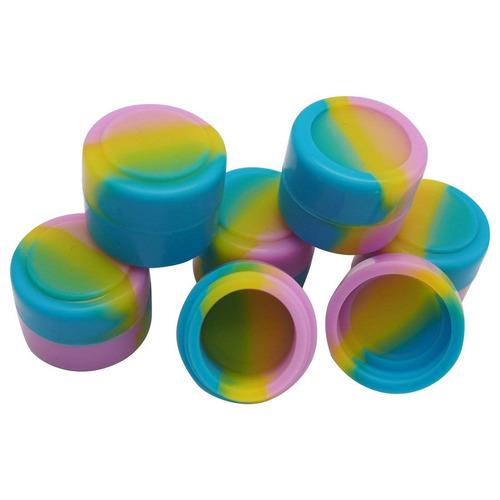 gentcy 2 ml 300pcs silicio contenedores almacenamiento jar s