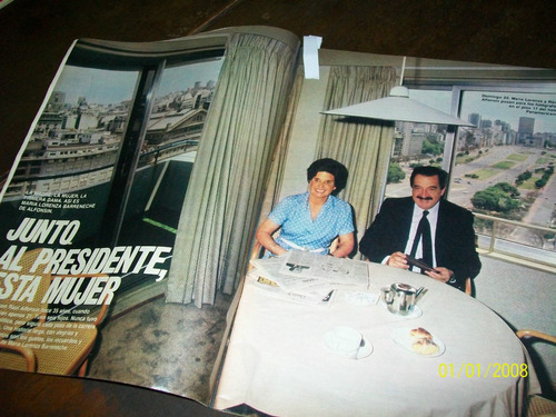gente 24/11/83 sabatini alfonsin andrea del boca silvestre