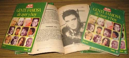 gente famosa de ayer y hoy biografías personajes diccionario