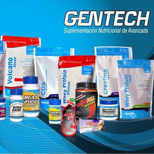 gentech whey protein premium (500 grs)- envio $ 0-venton