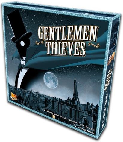 gentlemen thieves - jogo de tabuleiro importado - asmodee