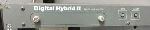 gentner digital hybrid ii, hibrido, radio, radiodifusora