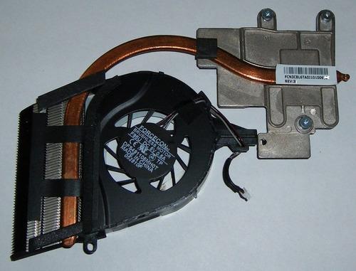 genuino ventilador disipador toshiba l655d fcn3cbl6ta0i10100
