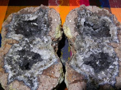 geoda  cuarzo natural