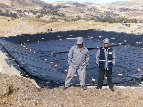 geoemenbrana de hdpe , geotextil , geomenbrana de pvc