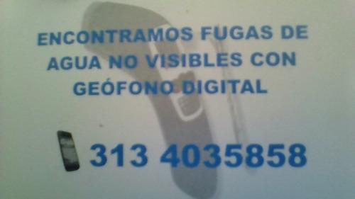 geofono detector de fuga de agua 3903732