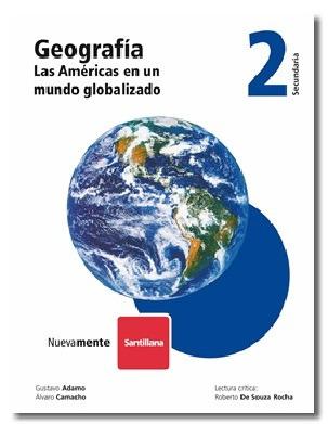 geografía 2, 3 - secundaria santillana