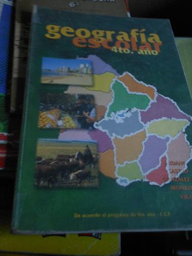 geografia 4º año  escolar  -  budano  y castro  -