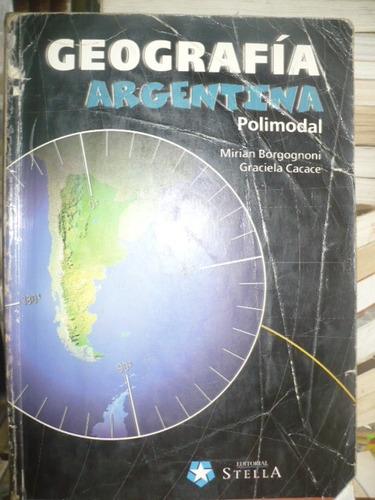 geografia argentina polimodal - borgognoni cacace