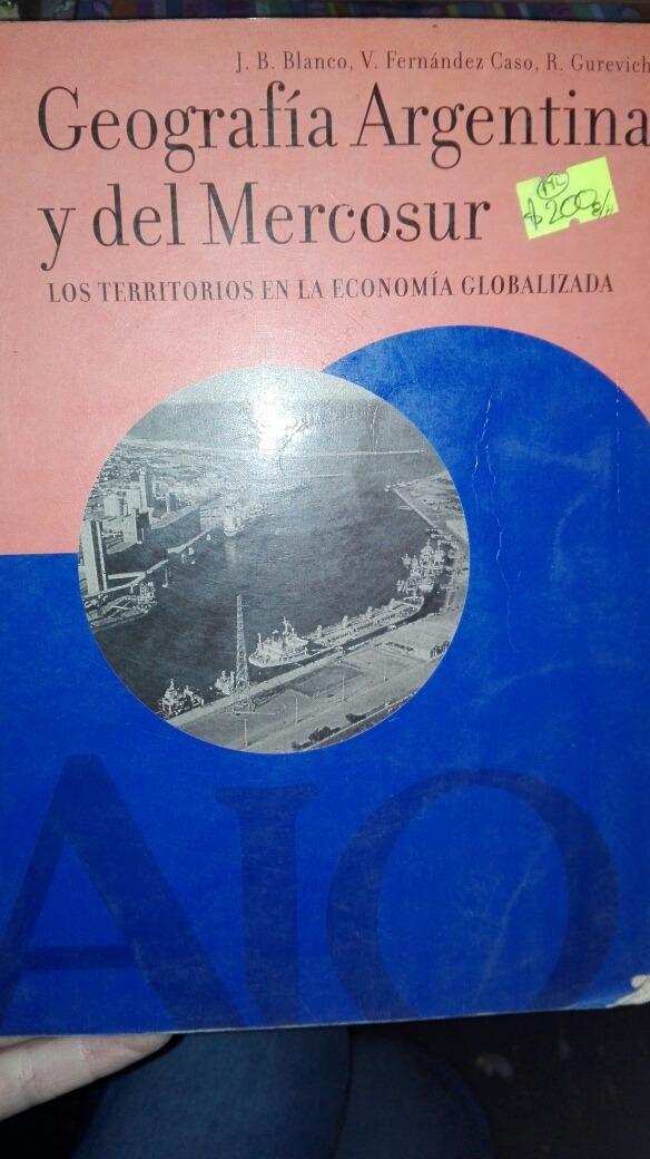 geografia argentina y del mercosur aique
