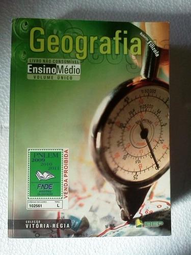 geografia coleção vitoria regia volume único