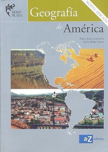 geografia de america    echeverria - capuz    az serie plata