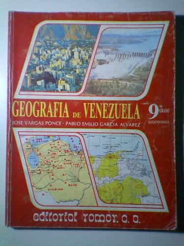 geografía de venezuela. 9 grado. jose v. ponce - pablo e.g.a