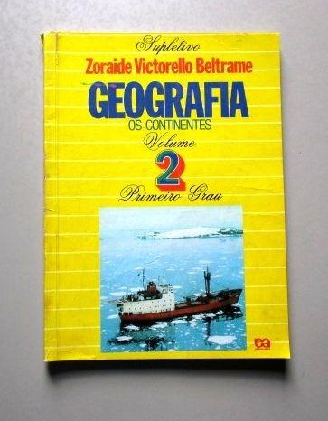 geografia - os continentes - zoraide v. beltrame - supletivo