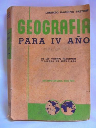 geografia para iv año por lorenzo dagnino pastore
