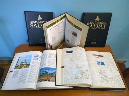 geografia universal salvat 12 tomos