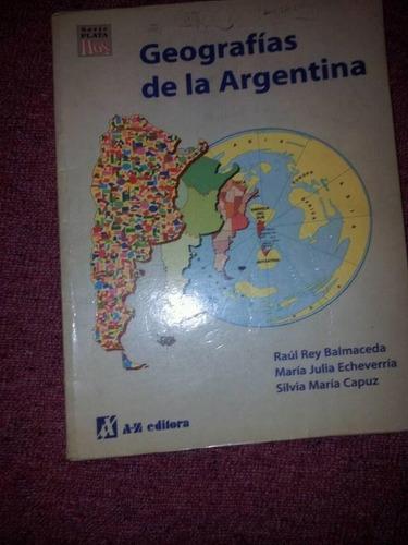 geografias de la argentina - az editorial