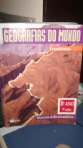 geografias do  mundo fronteiras marcos e diamantino oitavo a