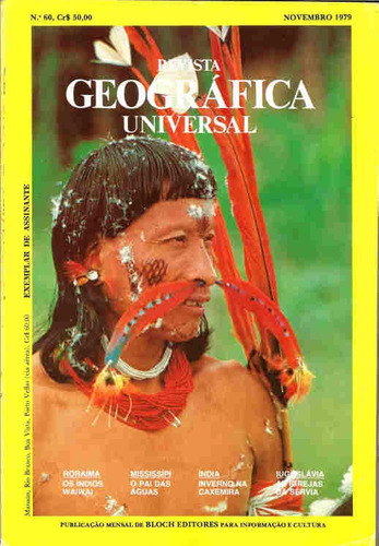 geográfica universal 60 * nov/79