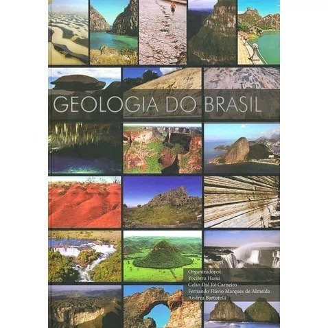 geologia do brasil - livro