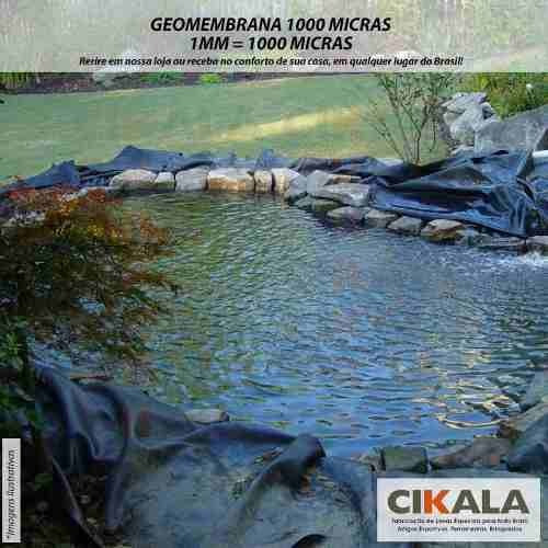 geomembrana 1000 micras piscicultura lago tanque 2x2 mts