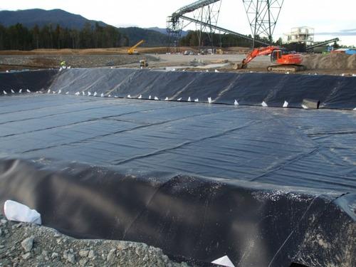 geomembrana impermeabilización de lagunas o tanques