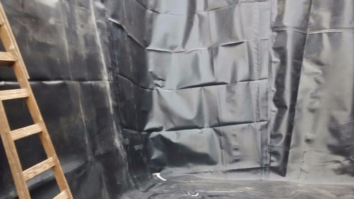 geomembrana polietileno hdpe 6.00 de ancho x 1 mt x 750 mic.