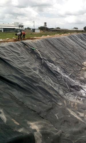 geomembranas y geotextiles