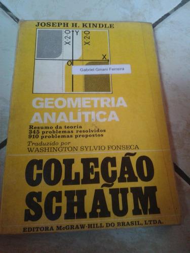 geometria analitica coleção schaum