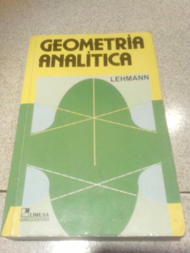 geometría analítica de lehmann