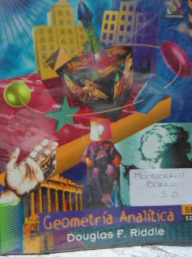 geometría analítica douglas f. riddle