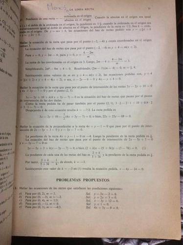 geometría analítica. serie schaum