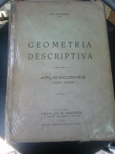 geometría descriptiva,aplicaciones-luis manfredi