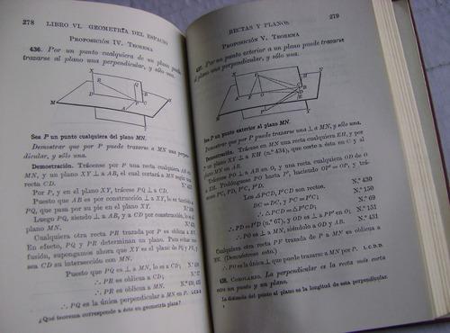 geometría plana y del espacio - wentworth y smith