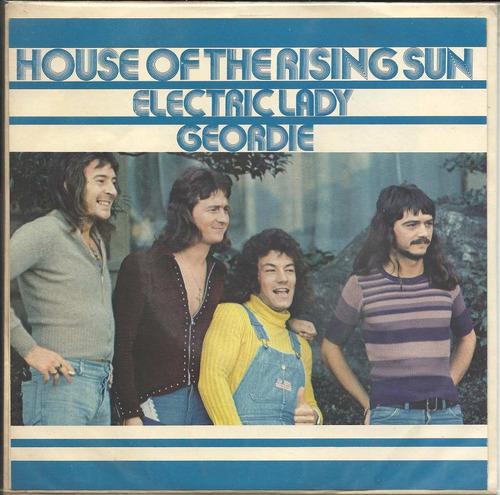 geordie house rising sun (vg/vg++)(japan) 7 single 45rpm**