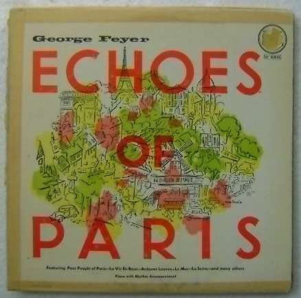 george feyer / echoes of paris 1 disco  lp vinilo