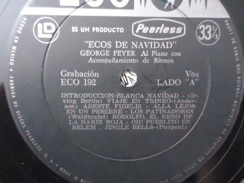 george feyer / ecos de navidad vinyl lp acetato