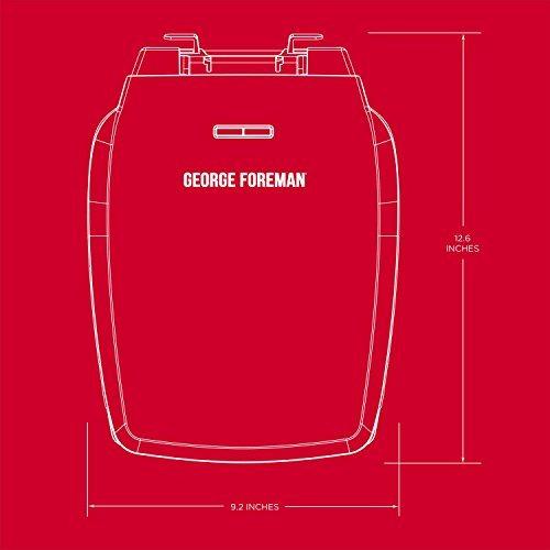 george foreman - parrilla de contacto clasica antiadherente,