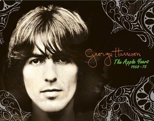 george harrison box the apple years 7 cd´s + dvd novo import