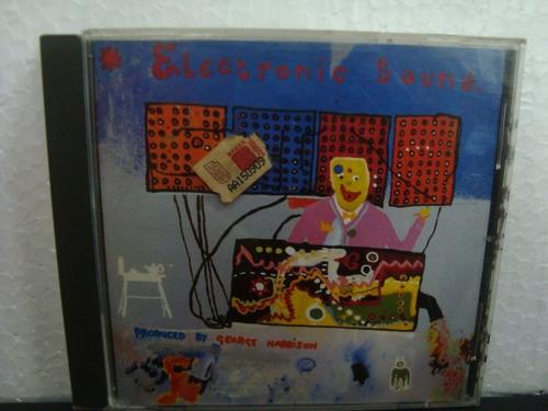 george harrison - electronic sound - cd importado