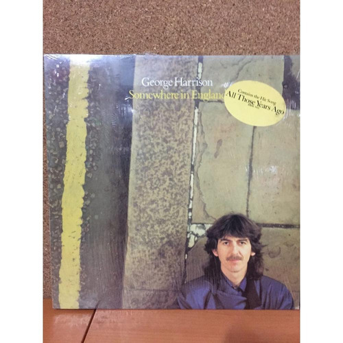 george harrison - somewhere in england - vinilo