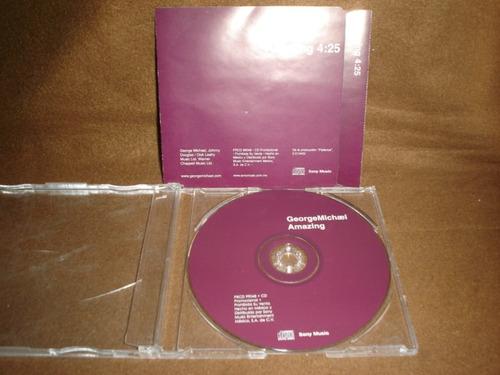 george michael -  cd single -  amazing ddi