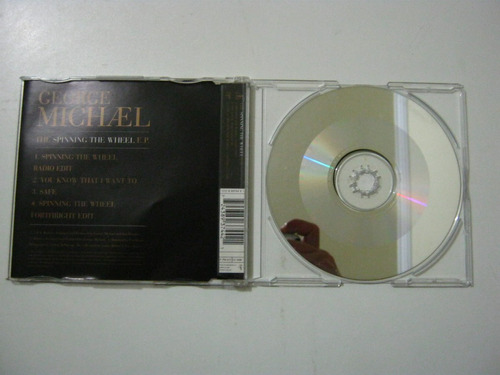 george michael spinning the wheel - cd single