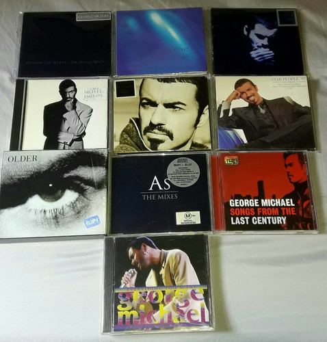 george michael star people '97 (the dance mixes) cds import