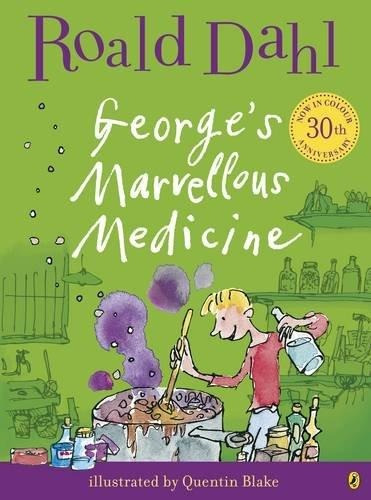 george s marvellous medicine puffin **out of print** de dahl